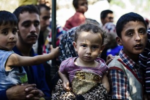 Syrian children refugees (Dimitar Dilkoff:AFP:Getty Images) July 17 2015