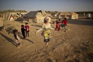 Syrian refugees iin Jordan ( Muhammed Muheisen:AP) July 26 2015