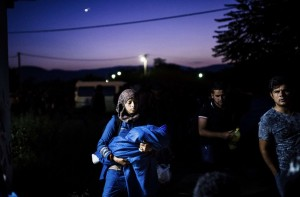 Syrian refugees in Macedonia (Dimitar Dilkoff:AFP:Getty Images) July 5 2015