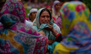 Funeral of Bilal Ahmad Bhat (Yawar Nazir: Getty Images) August 13 2015