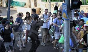 Gay pride march in Jerusalem (Kobi Schutz:AFP:Getty Images) August 1 2015
