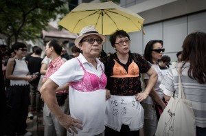 Hong Kong bra protest (Philippe Lopez:AFP:Getty Images) August 2 2015