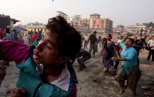 Nepal housing protest