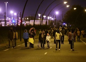 African refigees at Calais (Yui Mok:PA) Sept 22  2015