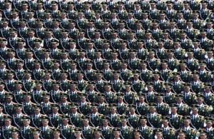Chinese army (Xinhua:Shutterstock) Sept 3 2015