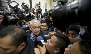 Otto Perez Molina (Esteban Felix:AP) Sept 6 2015