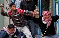 Palestinian stone-throwers