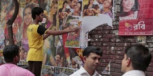 Rana Plaza film posters removed (AP) Sept 4 2015