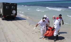 Refugee drownings (Ben Khalifa:AP) Sept 2 2015