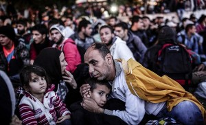 Refugees in Istanbul bus deport (Yasin Akgul:AFP:Getty Images) Sept 17 2015