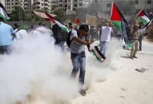 West Bank protest  (REUTERS:Mussa Qawasma) Sept 1 2015