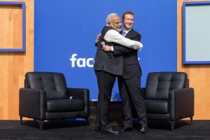 Zuckerberg and Modi