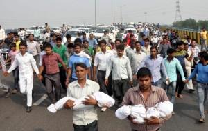 Dalit babies burned (Vijay Kumar:AP) Oct 22 2015