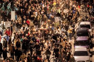 Danish protest (Soeren Bidstrup:Reuters:Scanpix Denmark) Oct 8 2015