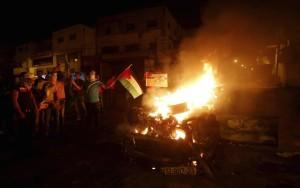 Joseph's Tomb arson  (REUTERS:Abed Omar Qusini) Oct 19 2015