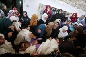 Mohammed Jabari funeral (REUTERS:Mussa Qawasma) Oct 11 2015