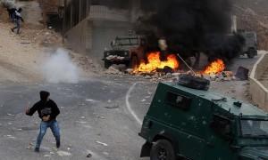 Palestinian youth at Nablus, WB (Jaafar Ashtiyeh:AFP:Getty Images) Oct 7 2015