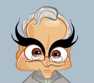 Richard Dawkins caricature (Martinus Van Tee) Oct 4 2015