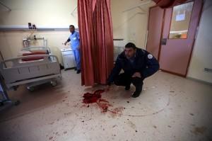 Hebron hospital (Abed Al Hashlamoun:EPA) Nov 16 2015
