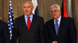 Netanyahu & Abbas (Kobi Gideon:Flash90) Oct 31 2015