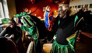 'Zwarte Piet' (Black Pete)  (Remko de Waal:EPA) Dec 6 2015