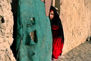 Afghan homeless girl  (EPA:HEDAYTULLAH AMID) Dec 22 2015