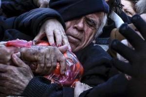 Athens Greece senior (Alkis Konstantinidis:Reuters) Jan 27 2016