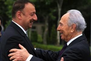 Ilham Aliyev & Shinom Peres (Amos Ben Gershom:GPO via Getty Images) Dec 14 2015