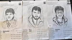 Kashmiri APDP calendar
