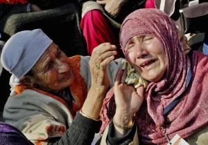 Kashmiri parents of disappeared rally  (AP Photo:Mukhtar Khan) Jan 10 2-16