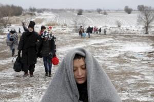 Refugees Miratovac, Macedonia (Marko Djurica:Reuters) Jan 25 2016