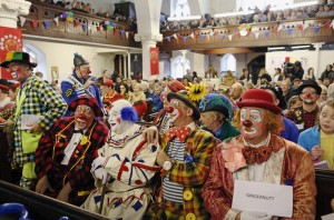 Clown parliament (- Dan Kitwood:Getty Images) Feb 8 2016