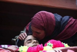 Funeral in Kashmir of Syed Mufeed (from Sameer UI Haq & Abu Dawar FB walls) Feb 7 2016