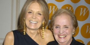 Madeleine Albright and Gloria Steinem (Getty Images)