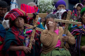 Mayan women in Guatemala (AP Photo:Moises Castillo) Feb 26 2016