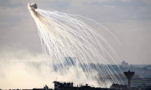 Operation Cast Lead:white phosphorus munitions (Reuters)