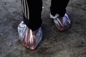 Refugee in Greece (Georgos Moutafis) Feb 9 2016