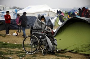 Stranded Syrian refugee (Reuters:Yannis Behrakis) Feb 26 2016