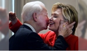 Clinton and Robert Byrd Mar 15 2016