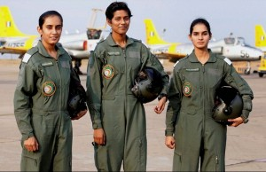 Indian women fighter pilots (from zeenews.India