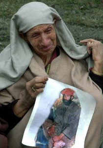 Kashmiri mother of disappeared