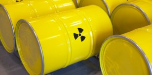 Radioactive waste barrels (MIHAJLO MARICIC VIA GETTY IMAGES)