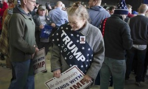 Trump supporter (John Minchillo:AP) Mar 10 2016