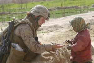 US woman Marine in Afghanistan (REUTERS:Monty Burton:U.S. Marine Corps:Handout) Mar 18 2016