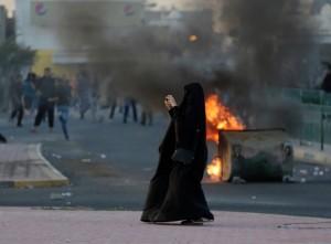 Bahraini protest (Photo by Hasan Jamali:AP) Apr 6 2016