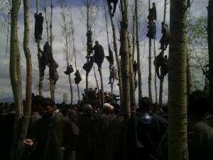 Funeral of Waseem Malla (Javaidd Naikoo) Apr 8 2016
