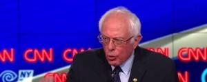 Sanders in NY debate