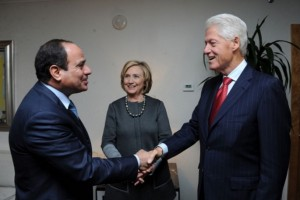 Sisi and the Clintons: Apr 25 2016