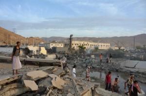 Yemen bombing scene Apr 2016 (Reuters)