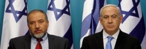 Avigdor Lieberman & Netanyahu